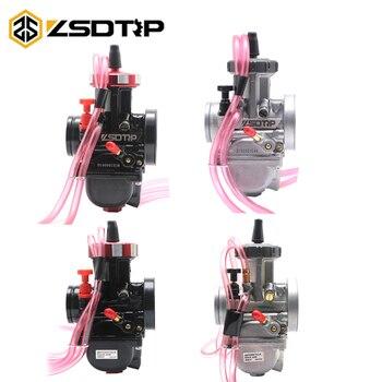 Carburador de motocicleta ZSDTRP 33 34 35 36 38 40 42mm PWK KEIHIN 4 T, motor Universal usado UTV ATV para motor de desplazamiento grande