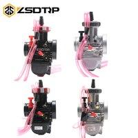 ZSDTRP 33 34 35 36 38 40 42mm PWK KEIHIN Motorcycle Carburetor 4T engine Universal Used UTV ATV For large displacement motor