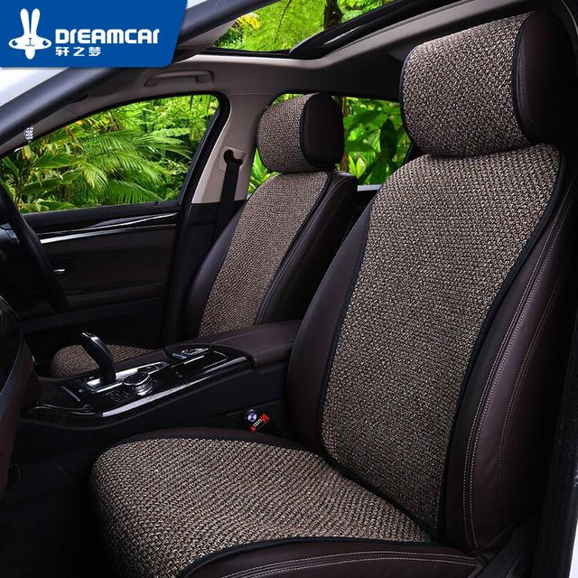 Breathable Mesh car seat covers pad fit for most cars /summer cool