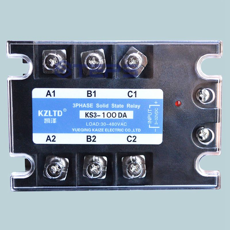 Three-phase solid state relay 100A DC to AC 380V explosion-proof non-contact contactor relay все цены
