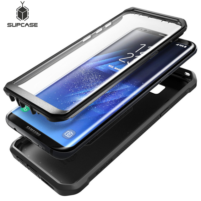 SUPCASE For Samsung Galaxy S8 Plus Cover With Built in Screen Protector UB Pro Full Body Rugged Holster Case For Galaxy S8+