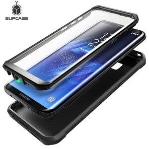 Image 1 - SUPCASE для Samsung Galaxy S8 Plus Чехол со встроенной защитной пленкой для экрана UB Pro прочная кобура для всего тела для Galaxy S8 +