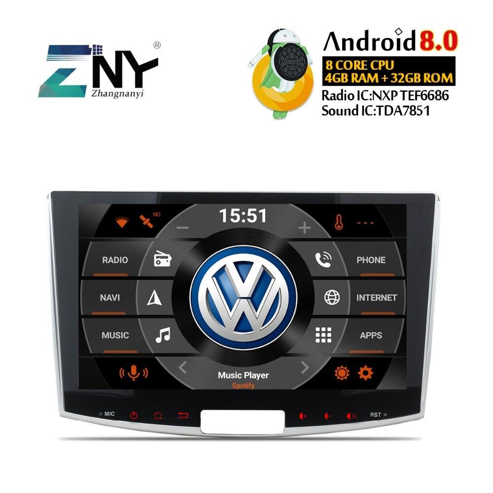4 gb 10.1 Android Voiture GPS Radio Pour Passat B6 B7 CC Magotan 2012 2013 2014 2015 Auto PC radio GPS Navigation Audio Vidéo Aucun DVD