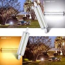 Led 78mm 118mm R7S Tube Light 220V Bulb Corn Lamp 2835 SMD Lampada Bombillas 110V No Flicker Ampoule 5W 10W 12W 15W