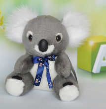 Plush Toys  Koala Doll  Flag Ribbon Gifts Baby   One Piece