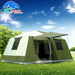 2 camera da letto 1 Soggiorno UV 8 10 12 Persona Di Famiglia Di Lusso Del Partito di Base Contro La Pioggia di Viaggio per le Escursioni di Alpinismo Outdoor tenda da campeggio