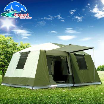 2 chambre 1 salon UV 8 10 12 personne luxe famille fête Base Anti pluie randonnée voyage alpinisme extérieur Camping tente
