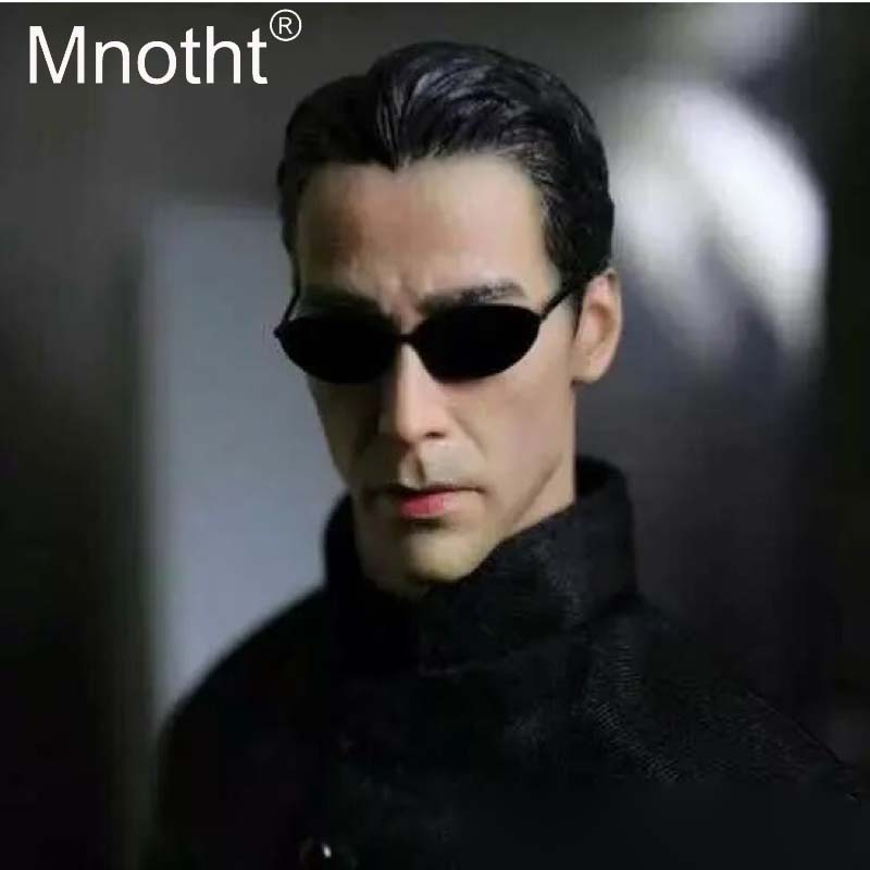 Mnotht 1:6 Scale Keanu Reeves Head Sculpt Model Male Soldier Head Carving Toys For 12in Action Figure Collections Toys m3 mnotht head sculpt 1 6 scale ant man paul rudd head sculpt for hot toys phicen male body in stock action