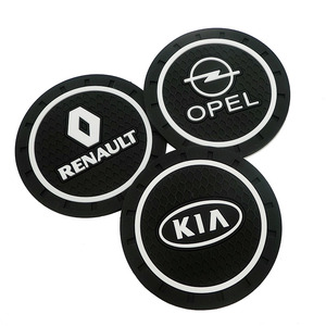 Image 2 - Housse de dessous de verre antidérapant en Pvc, pour Renault Opel Lada Vw Ford Toyota Chevrolet Kia Skoda Volvo Suzuki Hyundai bmw, 1 pièce