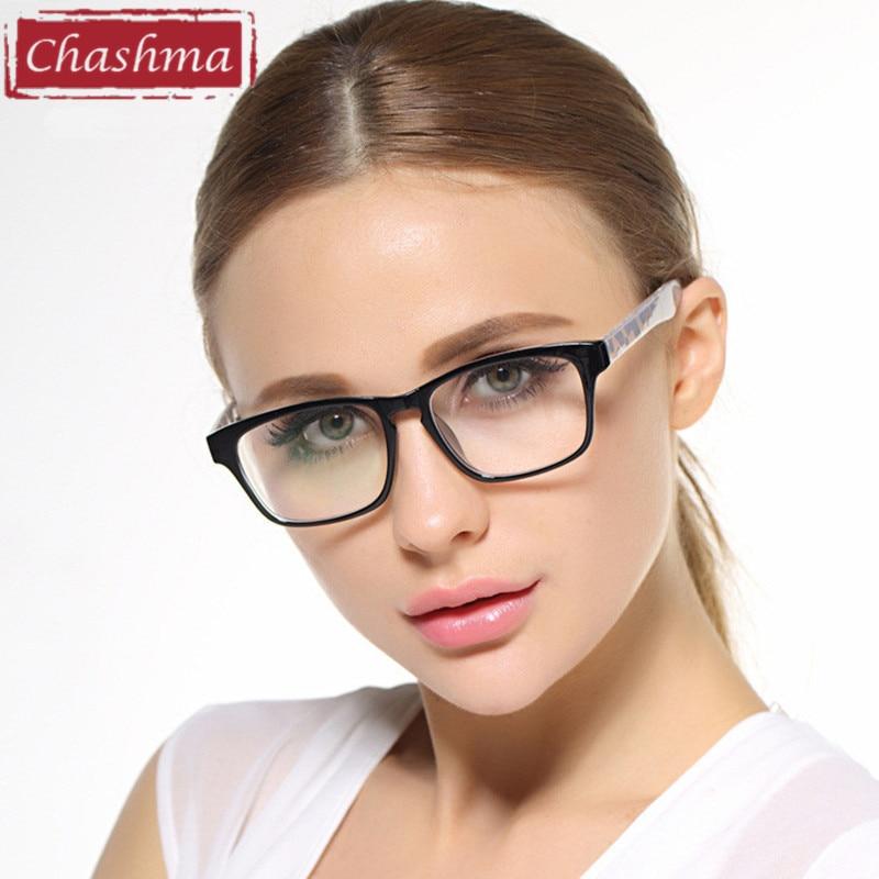 Chashma Black Glasses Stylish Eyewear Women And Men