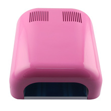 Pro 1 Pcs uv lamp 120s timing 110 & 220v 36w nail art  uv lamp gel curling+4 x 9W lamps for drying nail polish