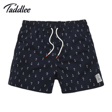 Taddlee Brand Mens Casual Shorts Summer Beach Man Swimwear Boardshorts Men Board Short 2017 Quick Drying Bermuda Swimsuit Cargos