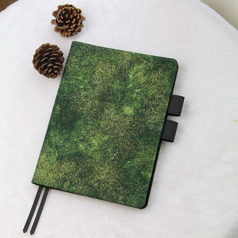 Golden Green Creative Hobonichi Fashion Journal Cover A5 A6 Suit For Standard A5/A6 Fitted Inner Book Free Shipping