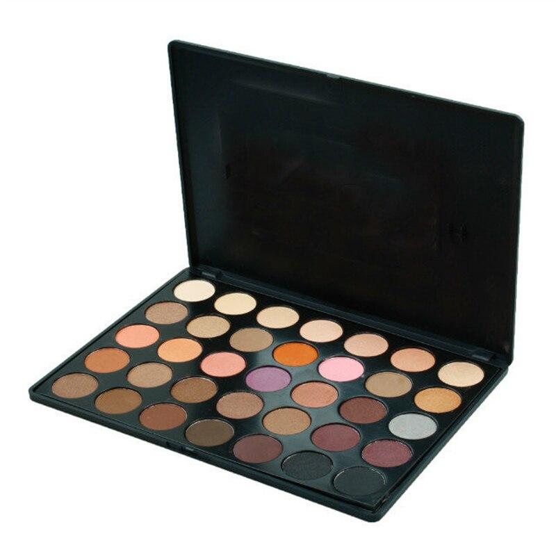 Profesional 35 Colores Shimmer Mate sombra de Ojos Maquillaje Profesional Paleta