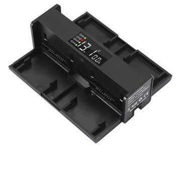 4 en 1 portátiles cargador de batería para drone DJI Mavic aire convertidor de carga de la batería de cargador inteligente de pantalla LED