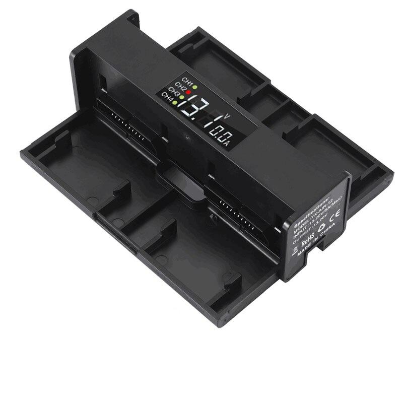 DJI Mavic Air 4 en 1 cargador de batería portátil Drone convertidor de batería cargador Hub cargador inteligente digit pantalla LED