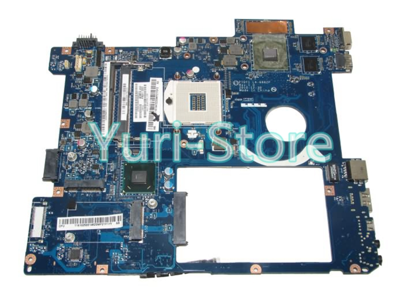 NOKOTION PIQY1 LA-6882P for lenovo Y570 HM65 Laptop Motherboard N12P-GT1-A1 ddr3 pga989 100% test brand new for lenovo ideapad y570 laptop motherboard piqy1 la 6882p with nvidia gt550m 2gb on board video card