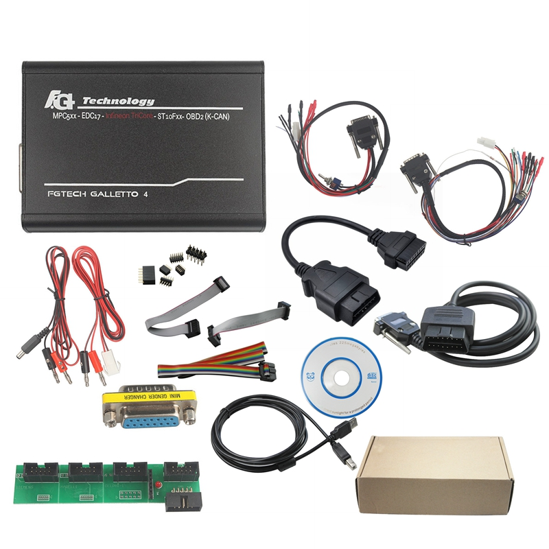 DHL Free KESS V2 V5.017 V2.47 EU KTAG V7.020 Red V2.25 ECM Titanium 4 LED FGTECH V54 BDM FRAME BDM100 V1255 BDM Probe 22pcs - 6