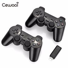 Cewaal 2Pcs 2.4Ghz Wireless Gamepad Controller with Vibration Joysticks Joypad  for Windows XP/7/8/10