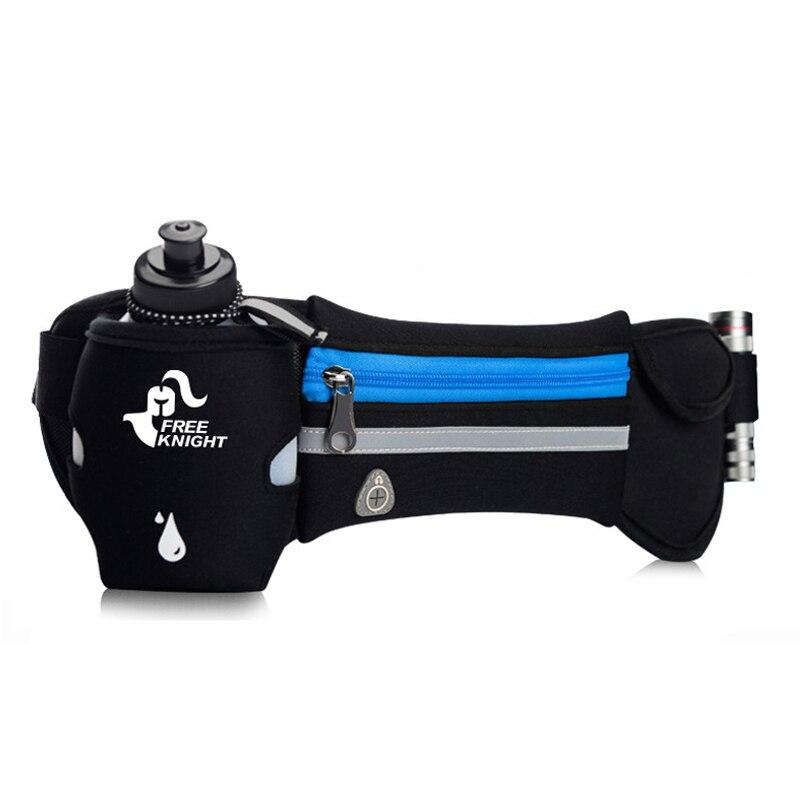 Laufen Hydratation Taille Tasche Hip Pack Wasserdichte Handy Halter Jogging Gürtel Bauch Tasche Frauen Männer Gym Fitness Tasche Dame sport