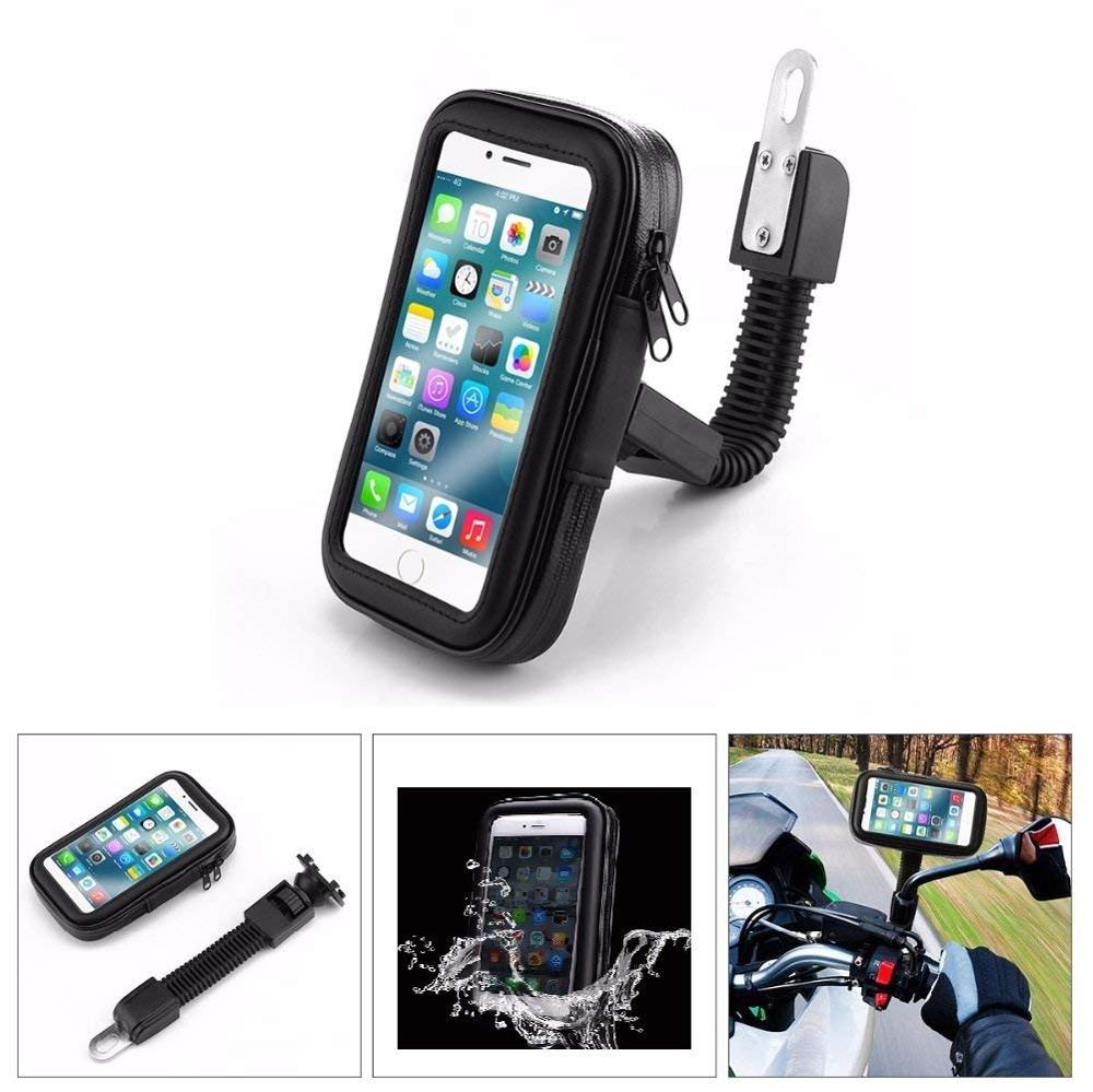 XMXCZKJ Motocicletă impermeabilă pentru biciclete Geantă pentru - Accesorii și piese pentru telefoane mobile