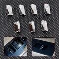 Novo 7 Pcs Porta Cromo Interruptor Da Janela Elevador Botão Da Tampa Da Guarnição Para Toyota Corolla RAV4 2014/Yaris 2005 2006 2007 +