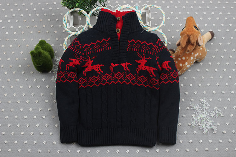 Baby Sweaters  Kids Boys Spring Autumn Infant Cardigan for Girl Sweaters Baby Turtleneck Knitting Clothing Children Outerwear 4