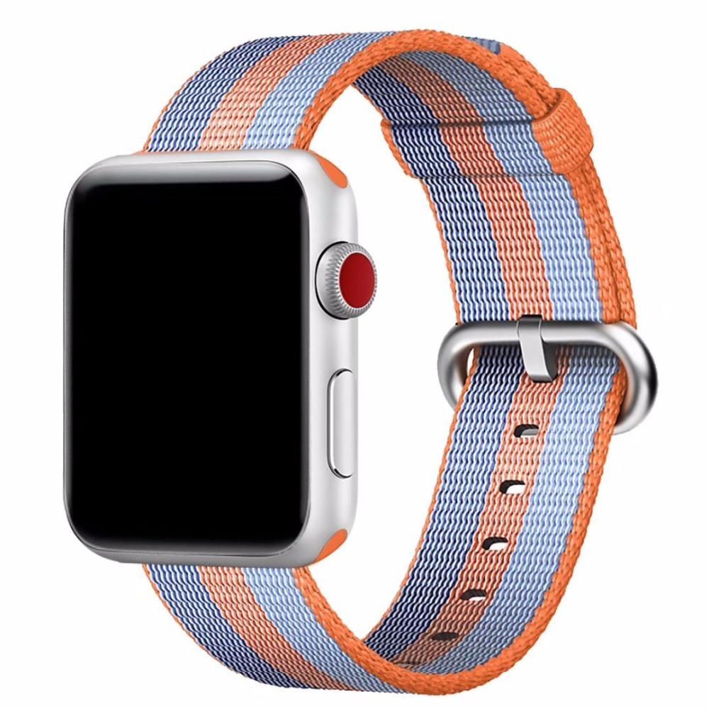 Woven Nylon for Apple Watch Band Replacement Classic Buckle Watch Strap for Apple Watch Bands 38mm And 42mm
