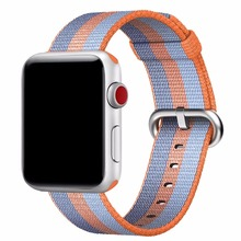 hot deal buy woven nylon for apple watch band replacement classic buckle watch strap for apple watch bands 38mm and 42mm