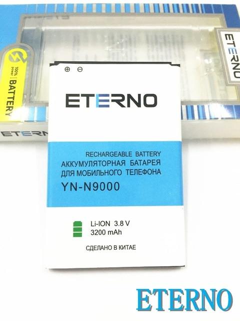 ETERNO B800BE B800BC B800BU Battery For Samsung Galaxy Note 3 Note3 III N9000 N9005 N9008 N7200 SM-N900 3200mAh High Capacity