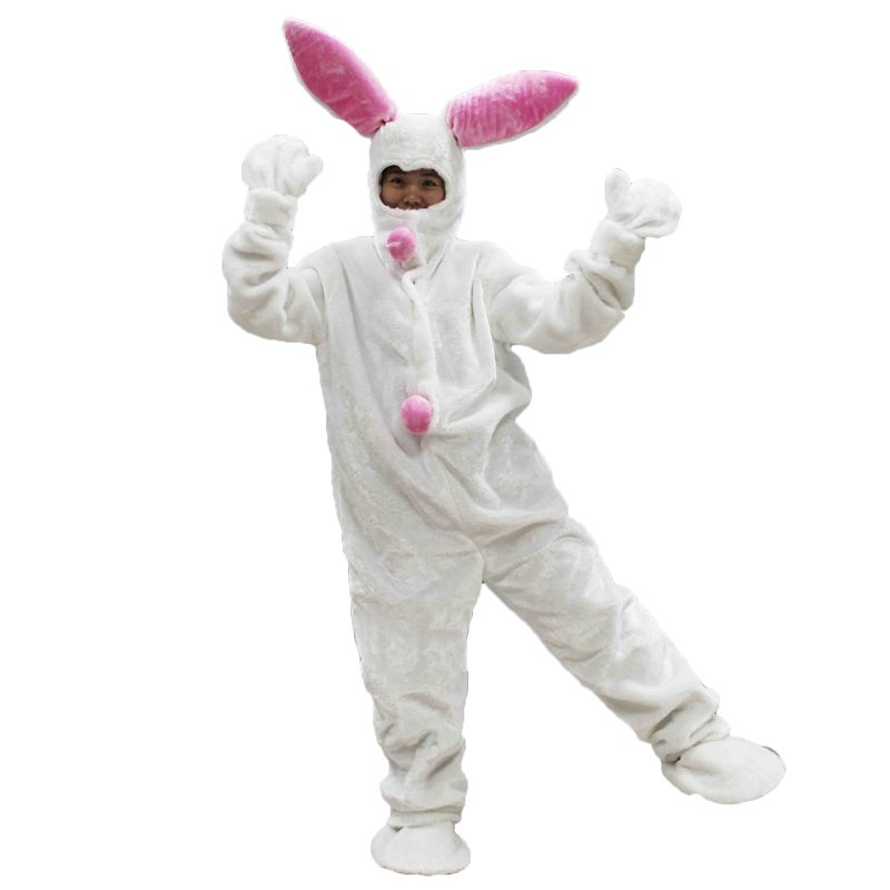 New Sale! High Quality Adult Easter Rabbit Funny Party Costume Carnival Party Animal Adult Cosplay Costumes Performance Clothing