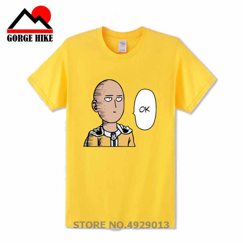 Cosplay Saitama Ein Schlag ok Onepunch t shirt t anime Cartoon t hemd männer Unisex Neue Mode t-shirt kostenloser versand lustige tops
