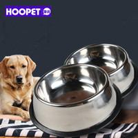Big Volume Dog Dry Food Bowl Feeder Stainless Steel Broken Resistant Snacks Food Water Bowl Dish