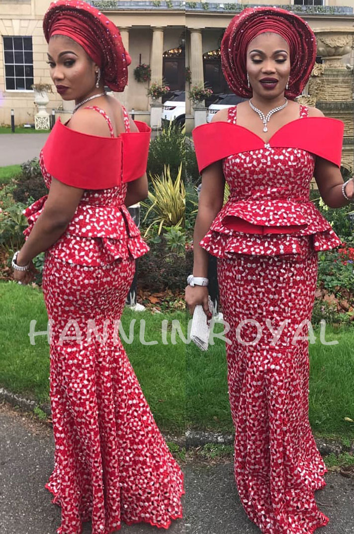 Top grade Red Silver African Handcut organza lace Nigeria garden sewing dress fabric 5 yards Hot