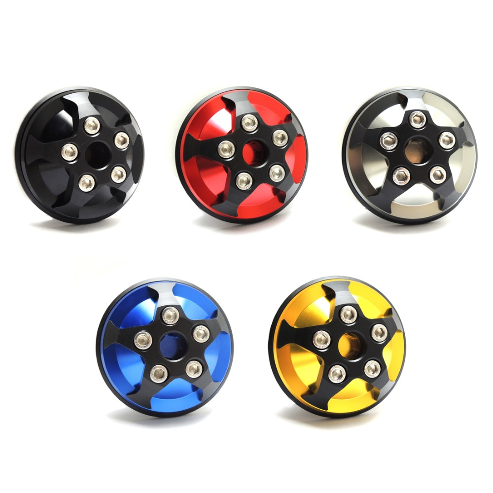 For Yamaha YZF-R3 YZF-R25 CNC Aluminum Clutch Cover Slider R3 R25 Motorcycle Parts Black Blue Red Gold Titanium One Set for yamaha yzf r25 14 15 yzf r3 2015 motorcycle cnc billet aluminum black short brake clutch levers