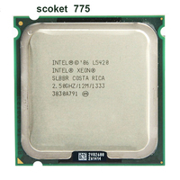 INTEL XONE L5420 CPU INTEL L5420 PROCESSOR Quad Core 4 Core 2 5 MHZ LeveL2 12M