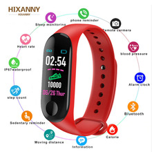 New M 3 Pro Smart Band Waterproof Fitness Tracker VS M3 Plus Smart Bracelet Blood Pressure Heart Rate Monitor PK Mi Band 3 Reloj new y5 smart band smart wristband heart rate watches activity fitness tracker smart bracelet vs xiaomi mi band 3 vs honor band 4