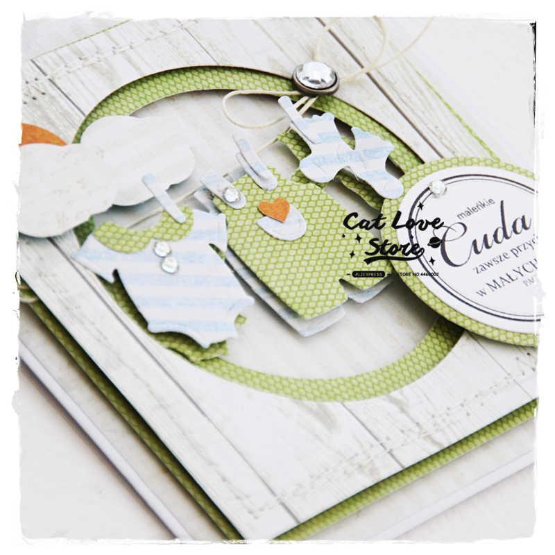Baby металлические украшения для одежды трафареты для пресс-формы для бумага для скрапбукинга декоративная открытка Craft тиснение высечки Новый 2019