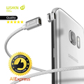 Magnetic Charging Fast Cable Original Wsken Mini 2 Connector Plug Metal USB For IPhone Samsung LG Xiaomi Huawei Meizu ZTE + GIFT