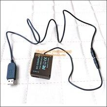 Dcc11 plus 8.7 Banco do Poder Fonte de Alimentação para Panasonic Ble9 DMW V Cabo Encaixa DC 5 2A Lumix Câmeras Digitais DMC GF6 GF5 GF3 GX7 Gf3k S6 S6K