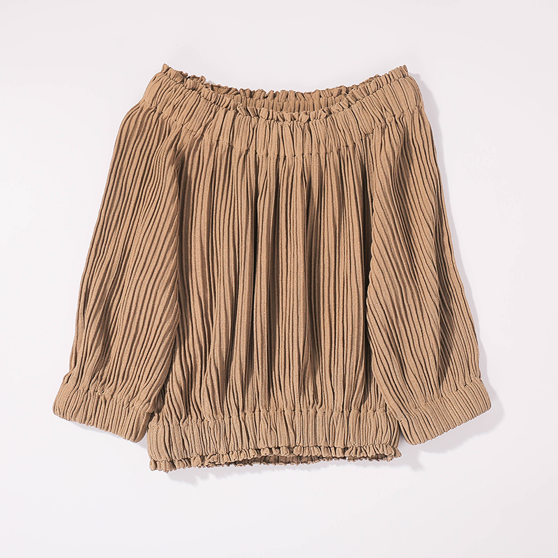 2b stile Europeo e Americano semplice a maniche corte t-shirt femminile di estate allentata parola collare cotone b11ah9803 cherry