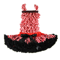 Buenos Ninos Dots Petti Skirts Suits Children Baby Girls Pettiskirt Set