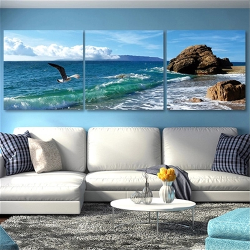 DiamondEmbroidery,China,landscape,scenery,Sunset sea view, 5D Full Diamond Painting, Cross Stitch, Mosaic, Decoration