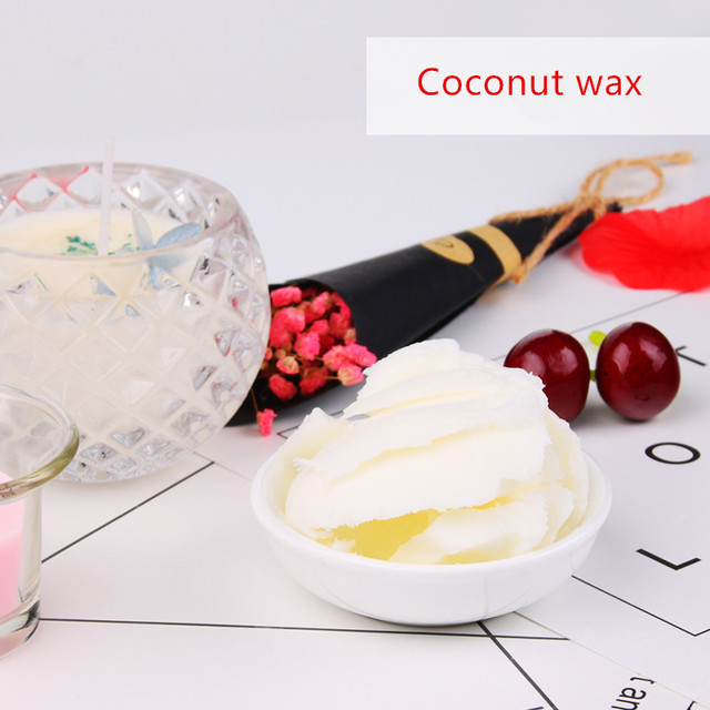 US $15 48 5% OFF|Hand candle diy/ coconut wax / homemade smoked candle diy  material 500/1000g-in Wax from Home & Garden on Aliexpress com | Alibaba