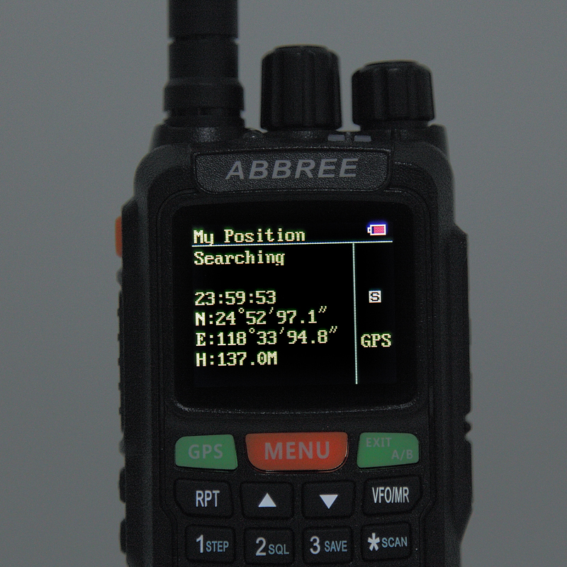 New AR-889G GPS SOS Walkie Talkie 10W 999CH Duplex Repeater