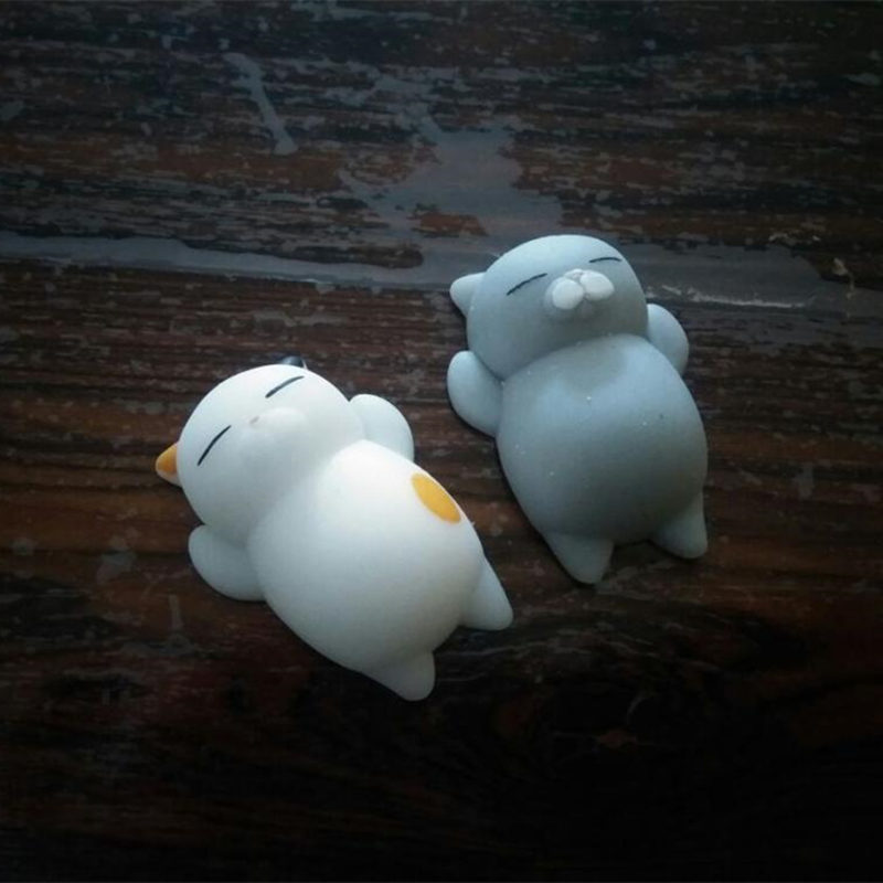 Mini Cute Squishy Cat Antistress Ball Squeeze Mochi Rising Toys Abreact Soft Sticky Squishies Stress Relief Toys Funny Gift