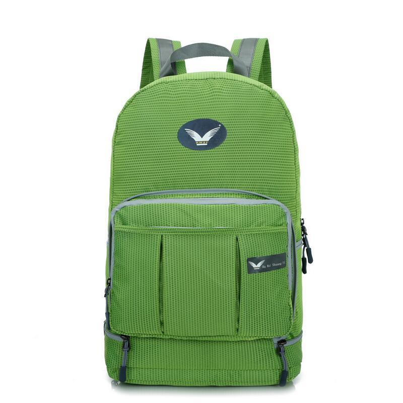 Легкий Водонепроницаемый рюкзак Открытый Путешествие складные сумки Для мужчин сумка дважды рюкзак wo Для мужчин спортивные сумки школьный