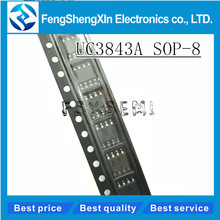 10pcs/lot New UC3843AN UC3843 3843B UC3843A 3843A SOP-8 Switch power supply controller IC