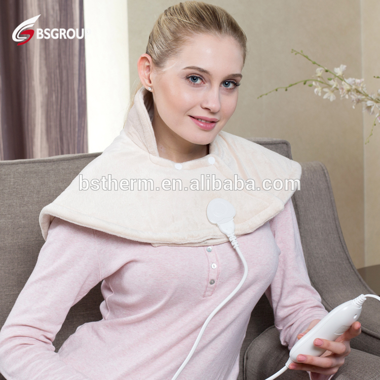 Bellavie 60*62CM Wrap electric heating pads protect Neck Shoulder Back for Muscle Pain and Tension Relief Therapy(220V EU Plug)Bellavie 60*62CM Wrap electric heating pads protect Neck Shoulder Back for Muscle Pain and Tension Relief Therapy(220V EU Plug)