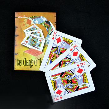 1 zestaw szybka zmiana trzech kart króla magiczne sztuczki Colse Up magiczne rekwizyty trzy K zmiana etap ulica magik sztuczka tanie i dobre opinie King Magic Papier CN (pochodzenie) 18 + Unisex Jeden rozmiar G1505 Zniknięcie Nauka ŁATWE DO WYKONANIA Beginner Profesjonalne